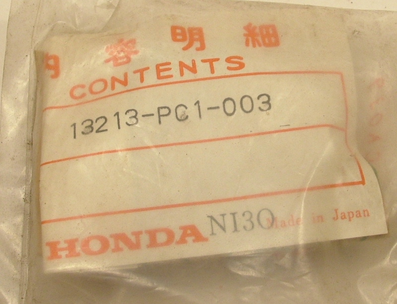 Accord 1976-83, Civic 1500 1975-83, Prelude 1979-82 Con Rod Bearing C (brown) - NOS