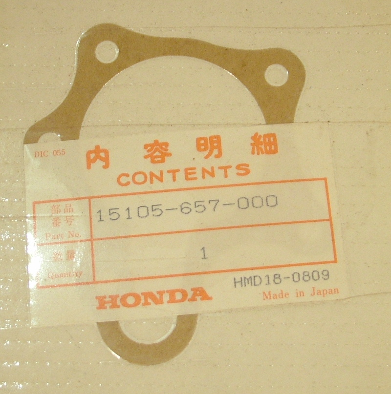 Accord 1976-78 Civic 1975-83 1500 Oil pump gasket
