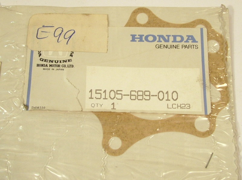 Accord 1979-83 Prelude 1979-82 Oil pump gasket