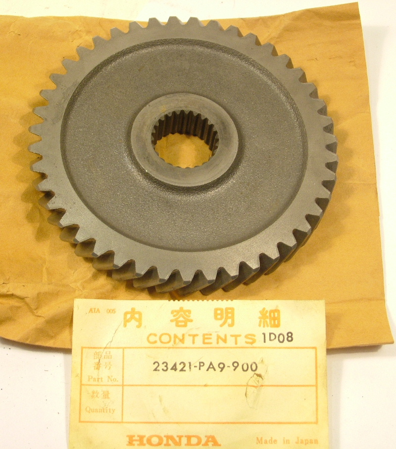 Accord 1980-85 Prelude 1980-82 Civic 81-85 Gear, countershaft low - NOS