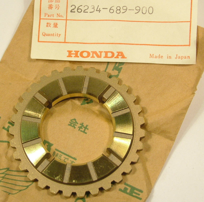 Accord 1979-82 Prelude 1979 Civic 80-83 Plate, Stator Side - NOS