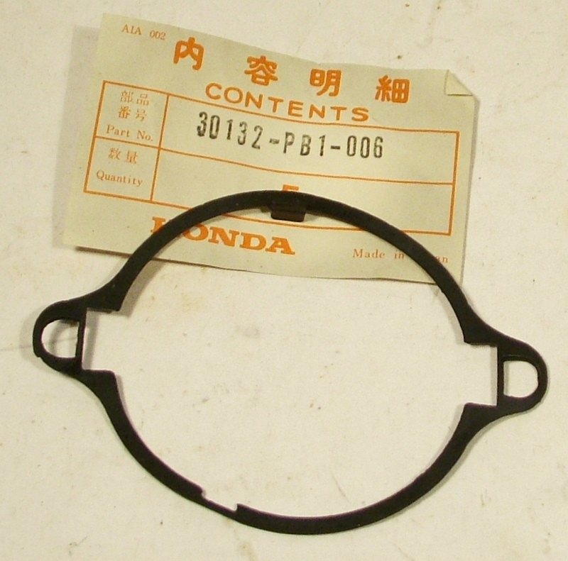 Accord 1982-83, Prelude 1982 Distributor Cap Rubber Seal - NOS
