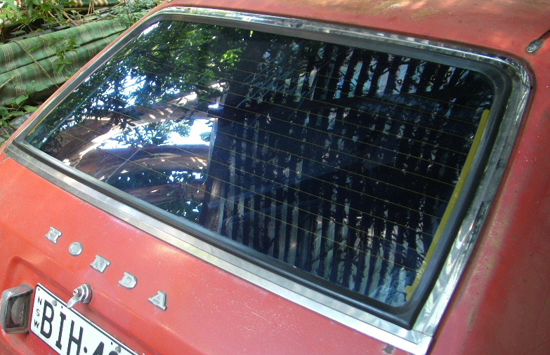 Tailgate / hatch glass gasket - 5-door