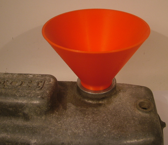 Oil Fill Funnel