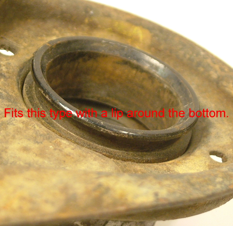 Early gearshift lower dust boot - Click Image to Close